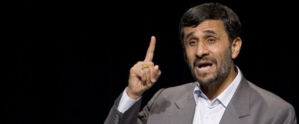 Iran president Mahmoud Ahmadinejad wants to travel to space
