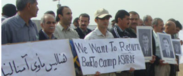 Camp Liberty residents want to go back to Camp Ashraf