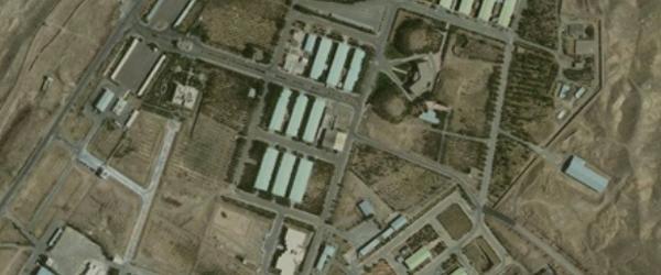 Parchin site near Tehran