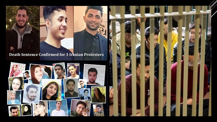 death sentence imposed on 3 young men