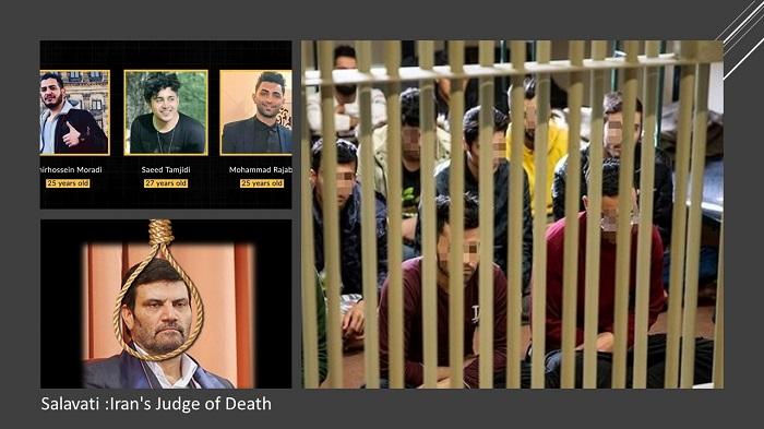 Salavati has sentenced many political prisoners