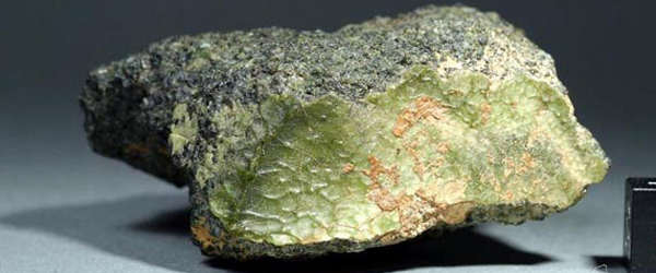 NWA 7325 - The Green Rock from the Planet Mercury found in Morocco