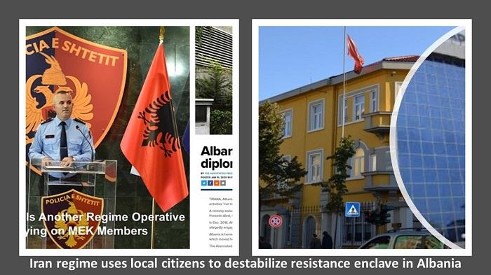 resistance enclave in Albania